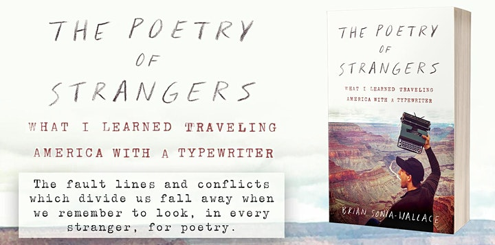 The Poetry of Strangers: Book Launch Party (& Zoom Typewriter Parade!) image