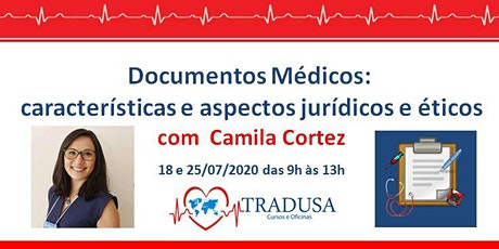 Curso On-line TRADUSA: Documentos Médicos bilhetes