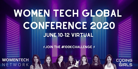 WomenTech Global Conference 2020 (US Pacific Time) tickets