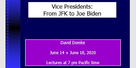 VICE-PRESIDENTS: FROM JFK TO JOE BIDEN tickets