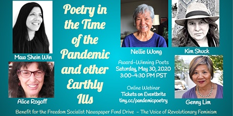 Poetry in the Time of the Pandemic & Other Earthly Ills tickets