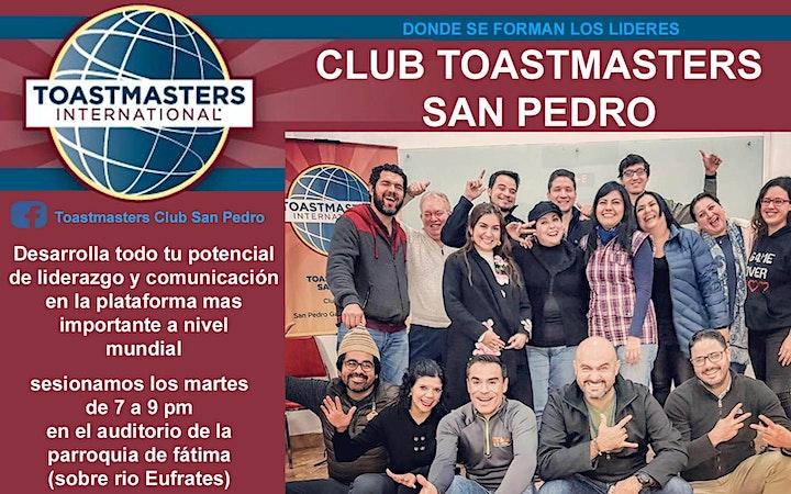 Imagen de CLUB TOASTMASTERS SAN PEDRO