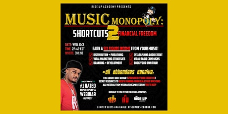 Music Monopoly: Shortcuts To Financial Success tickets