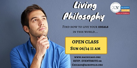 The Living Philosophy course - Open Class tickets