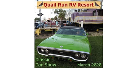 10TH Annual Classic Car Show at Quail Run RV Resort tickets