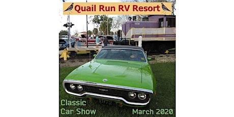 10TH Annual Classic Car Show at Quail Run RV Resort tickets