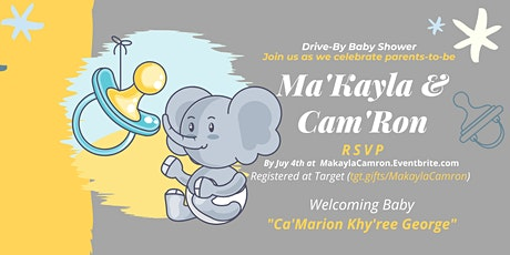 (Tap to RSVP) Welcoming Baby Ca'Marion  tickets