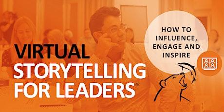 Virtual Storytelling for Leaders® – AMERICAS - June 2020 tickets