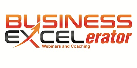 TIME TO PIVOT - Business EXCELerator Webinar tickets