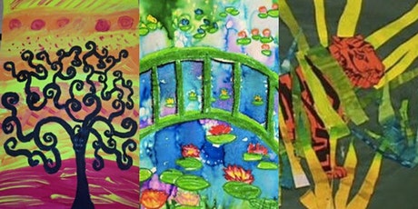 Create Like an Artist! Kid's Summer Art Camp tickets
