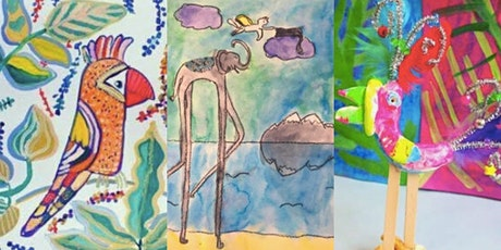Wild About Art! Kid's Summer Art Camp tickets