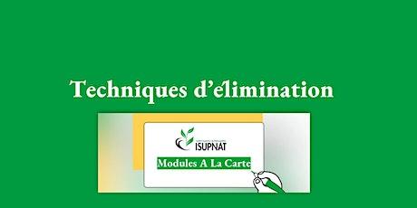 Techniques d'élimination - Module de formation à la carte billets
