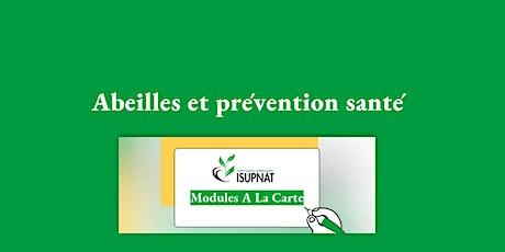 Abeilles et prévention santé - Module de formation à la carte billets