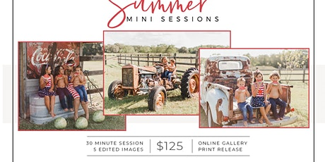 Summer Mini Sessions at The Farm - Sunday, June 14th tickets