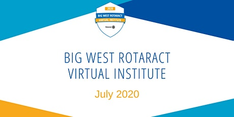 2020 Big West Rotaract Institute tickets