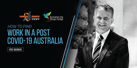How to find work in a post COVID-19 Australia. tickets