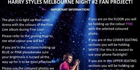 Harry Styles 2nd Melbourne Show! tickets