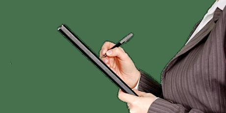 LIVE STREAMED - Master Class BWOF paperwork tickets