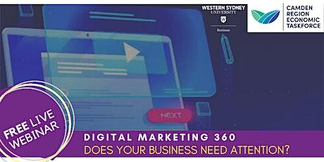 Digital Marketing 360 tickets