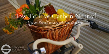 How to Live Carbon Neutral tickets