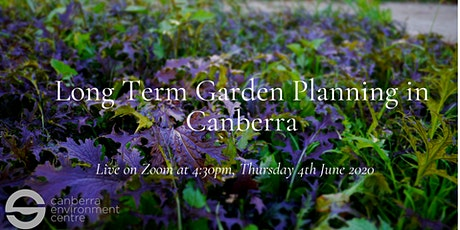 Long Term Garden Planning in Canberra tickets