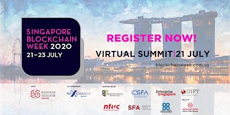Singapore Blockchain Week Virtual Summit 2020 entradas