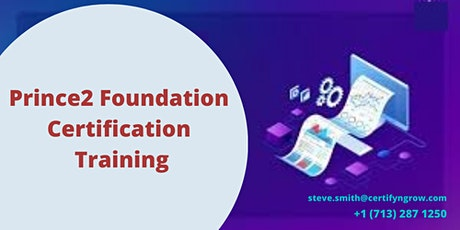 Prince2 Foundation 2 Days Certification Training in Arcadia, CA,USA tickets