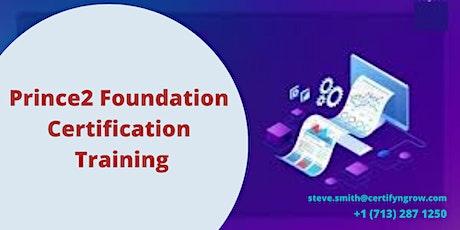 Prince2 Foundation 2 Days Certification Training in Arlington, VA,USA tickets