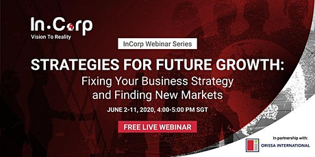 Future Growth: Fixing Your Business Strategy & Finding New Markets tickets