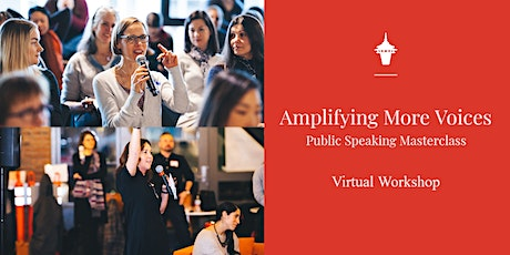 Public Speaking Masterclass: Amplifying More Voices tickets