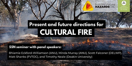 SSN Seminar: Present and Future Directions for Cultural Fire tickets
