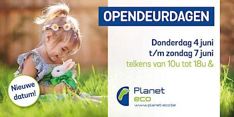 Planet-eco lente bedrijfsbezoek op afspraak tickets