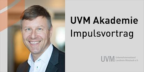UVM Impulsvortrag:  Burning Out - Brennen bis zum Scheitern Tickets
