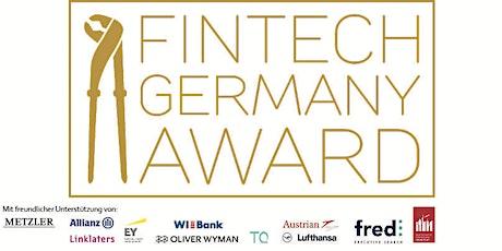 Fintech Germany Award 2020 tickets