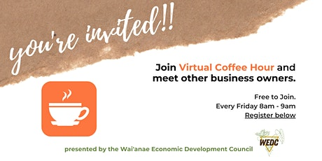 Wai'anae Small Business Coffee Hour is VIRTUAL! tickets