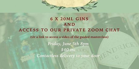 18th Amendment Gin through the Ages Virtual Masterclass tickets