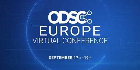 FREE Live Streaming Access to Opening Keynotes ||  ODSC Europe Virtual Conference 2020 tickets