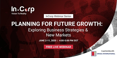 Planning for Future Growth: Exploring Business Strategies & New Markets tickets