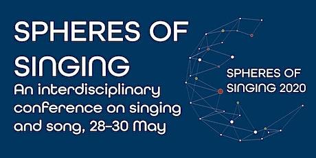 Spheres of Singing 2020 tickets