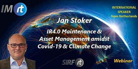 Webinar - IR4.0 for Maintenance & Asset Management amidst Covid-19 & Climate Change tickets