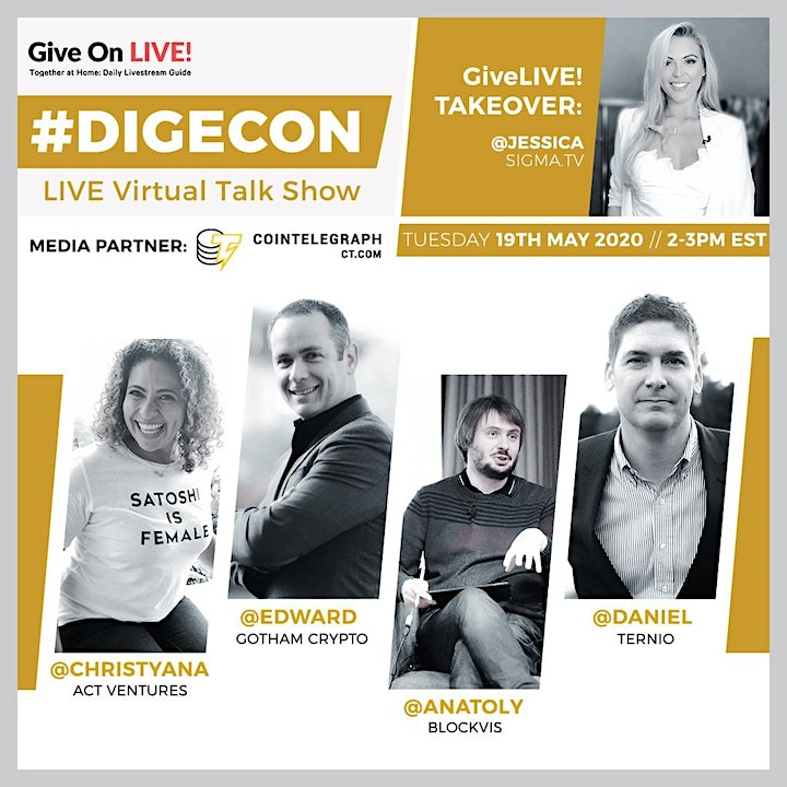 """DIGECON: LIVE """"Owning Digital Money"""" -for Beginners image"""