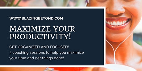 Maximize Your Productivity Coaching Session tickets