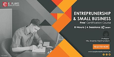Entrepreneurship & Small Business Management tickets