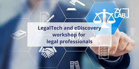 eDiscovery workshop for legal professionals - June 18th 2020 Tickets