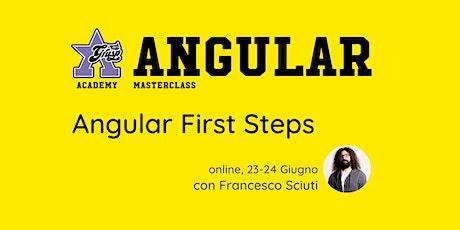 Angular First Steps [GrUSP Academy - Angular Masterclass] biglietti