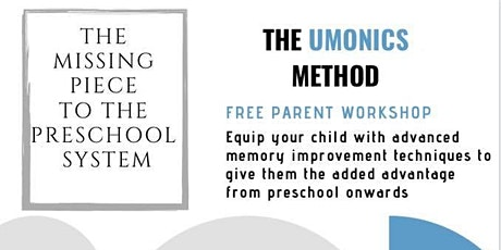 The Umonics Method - The Missing Piece To The Preschool System tickets