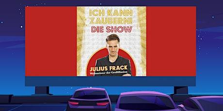 """KULTUR IM AUTO - """"Ich kann zaubern"""" mit Großillusionist Julius Frack Tickets"""