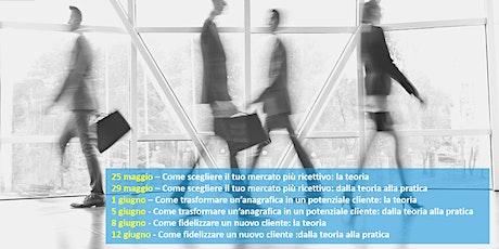 CORSO GRATUITO: Come diventare l'Export Manager della tua azienda biglietti