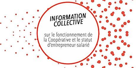 Visio conférence ZOOM - CAE CLARA et CLARAbis - Réunion d'information collective du 20 juillet billets