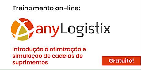 Treinamento GRATUITO E ON-LINE de introdução ao anyLogistix - 04 de junho de 2020 bilhetes